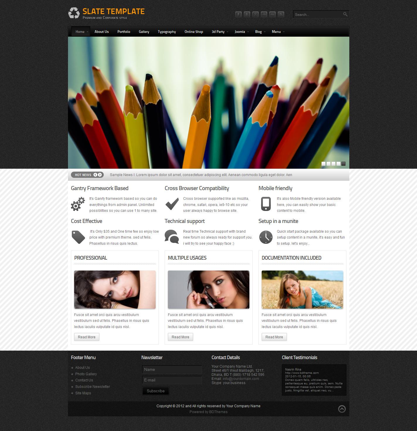 Slate-Premium-and-Corporate-Joomla-Themes