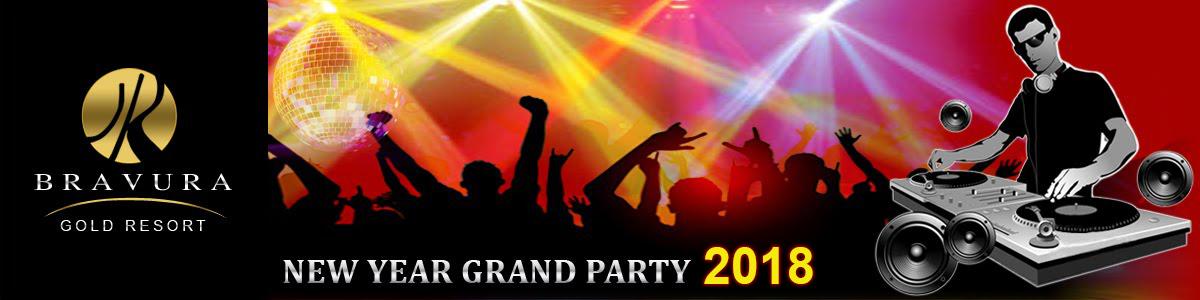 New Year Party 2018 in Meerut, Partapur, Modipuram, Delhi Road, Noida, Gurugram and Delhi-NCR India