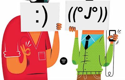 ¿Son recientes los emoticones?