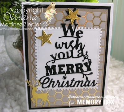 2 Christmas Card Versions using the Same Color Combo postage