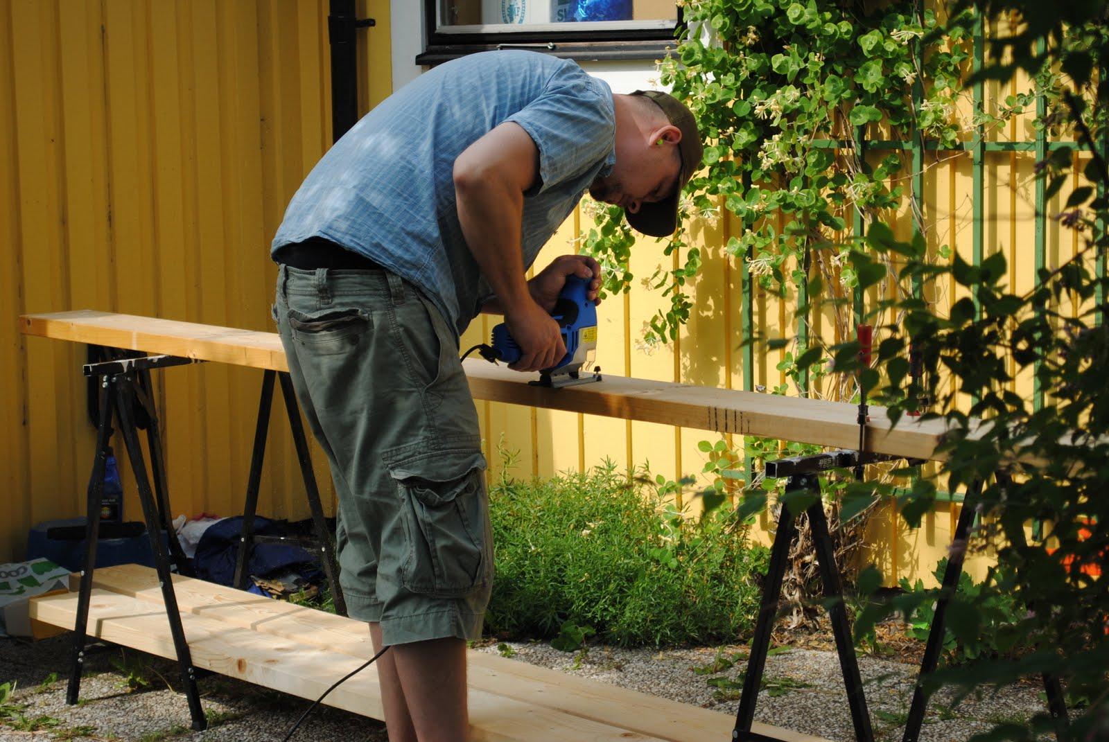 Harmonida: Att bygga en sandlåda