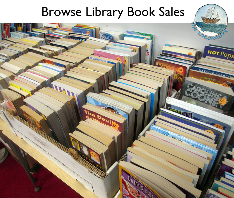 Building a Classroom Library: browse library book sales | The Logonauts