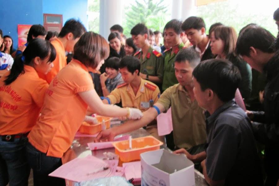 Thị xã An Khê: Gần 200 người tham gia hiến máu nhân đạo