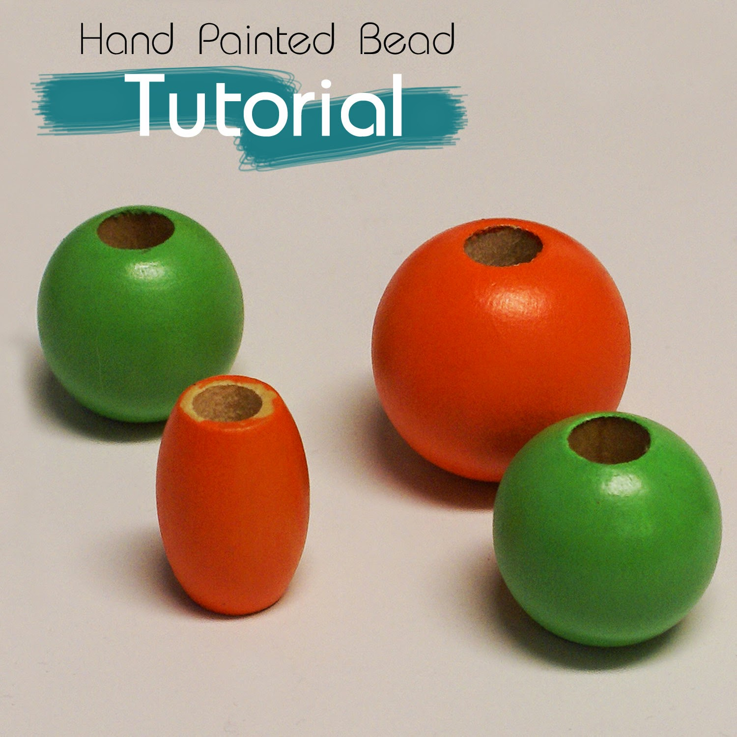 Hand painted bead tutorial - Pepperell Braiding Company