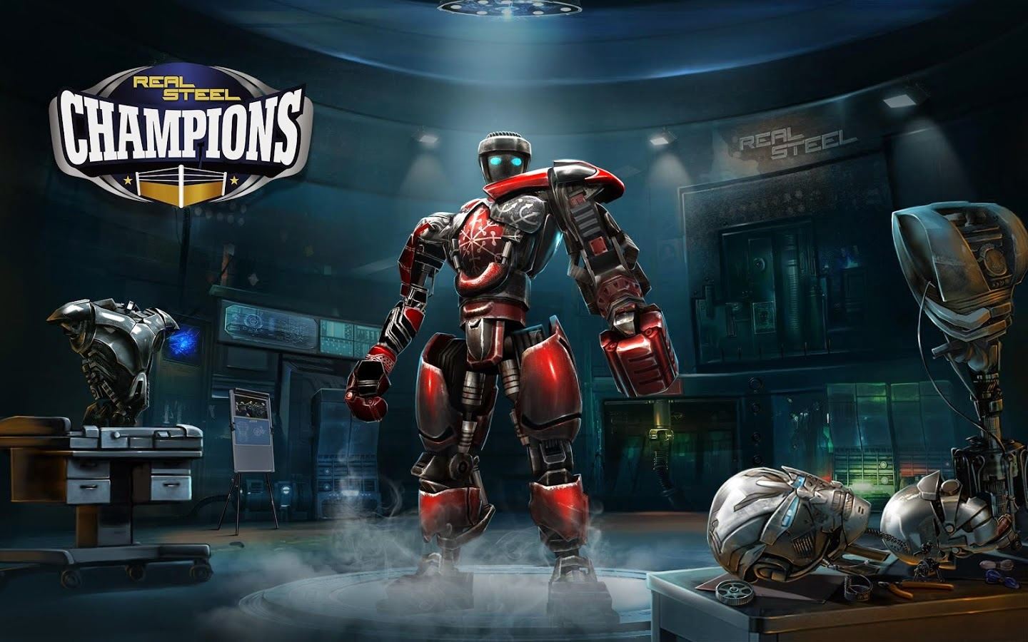 Real Steel Boxing Champions v1.0.385 MOD Apk Hack for Android (2017)