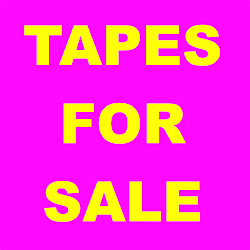 Tapes For Sale