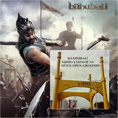 Baahubali audio launch Details