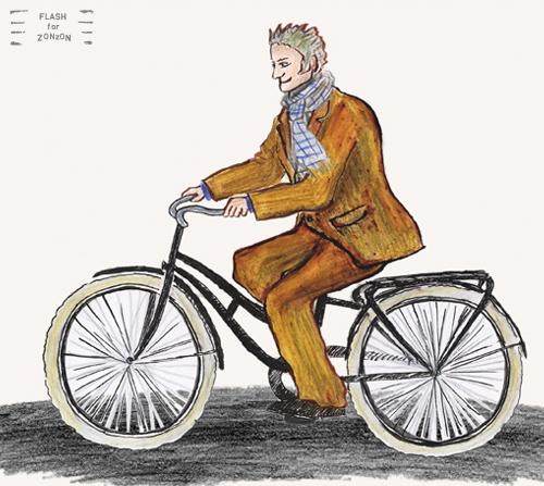 Bicyclist, street style