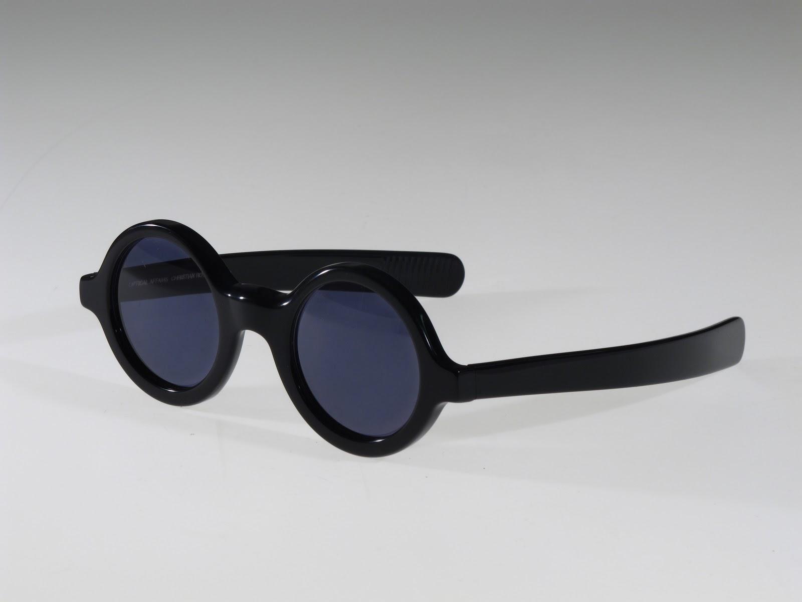 Selima Optique: Vintage Eye: 80\'s Optical Affairs Round Frame Sunglasses