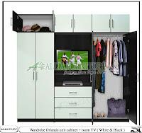 lemari minimalis tv model Orlando