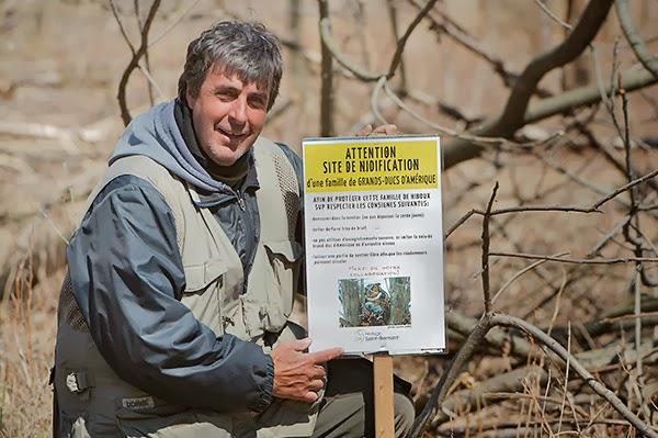 Lucien Lemay, club des ornithologues de Châteauguay
