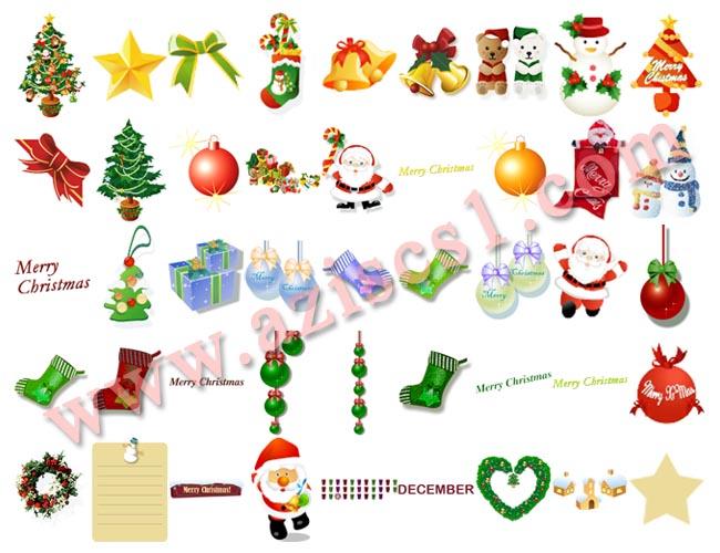 Kumpulan Clip Art Natal
