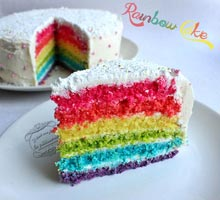 rainbow cake blog de cuisine