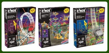 K'NEX Building Sets: Amusement Park Series Assortment