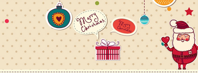 Cute Christmas Facebook Cover