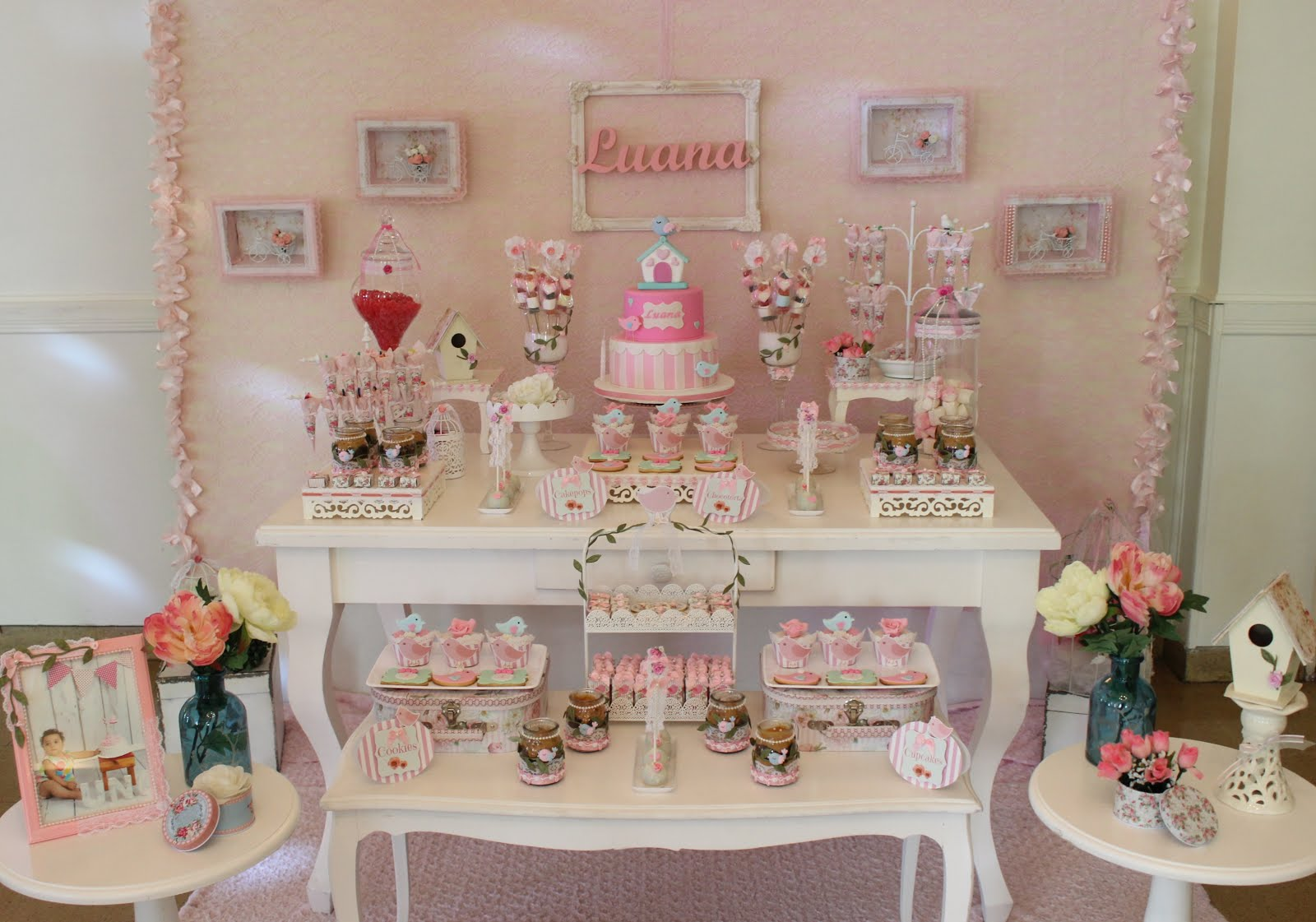 Candy Bar y Mesas Tematicas