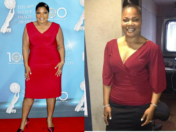 monique weight loss pics