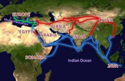 rota das especiarias terra e mar