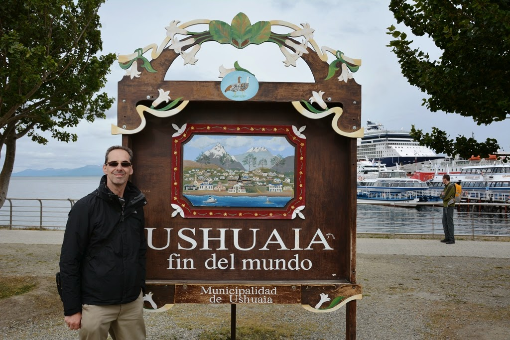 Ushuaia city