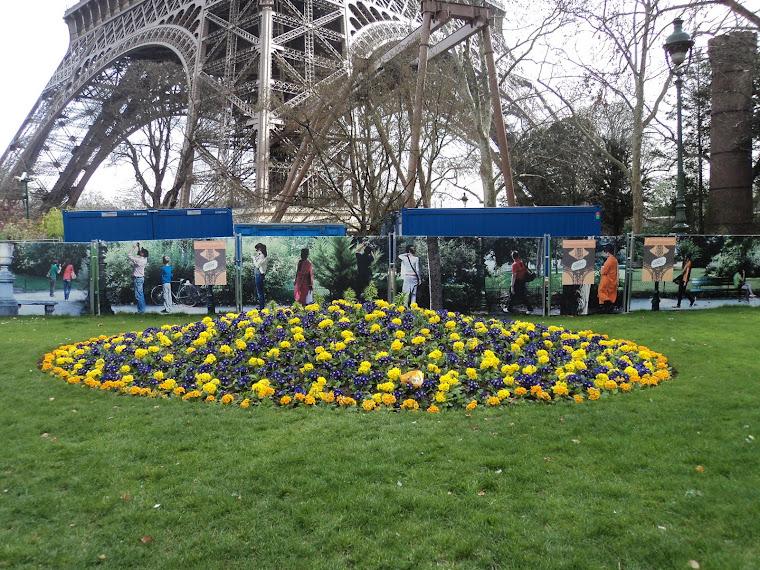 Torre Eifel e Jardim lindo!