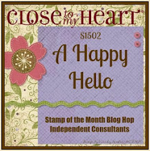 February Stamp of the Month Blog Hop