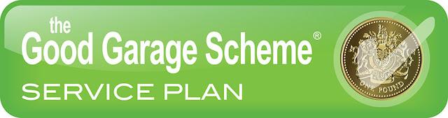 Good Garage Scheme Service Plan Logo