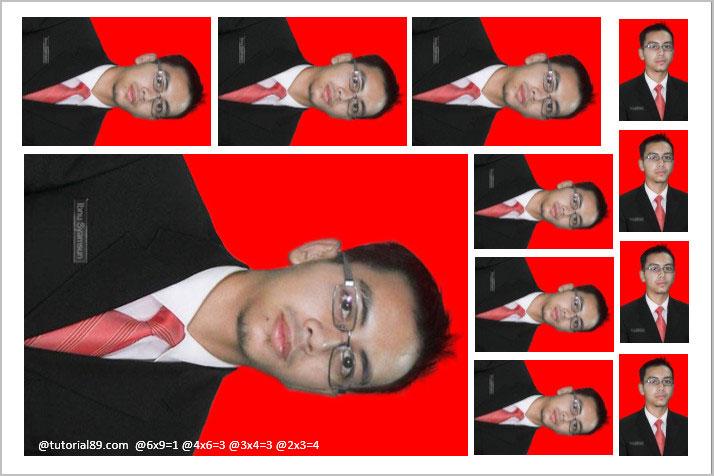 Cara print pas foto di word supaya sesuai dengan ukuran asli