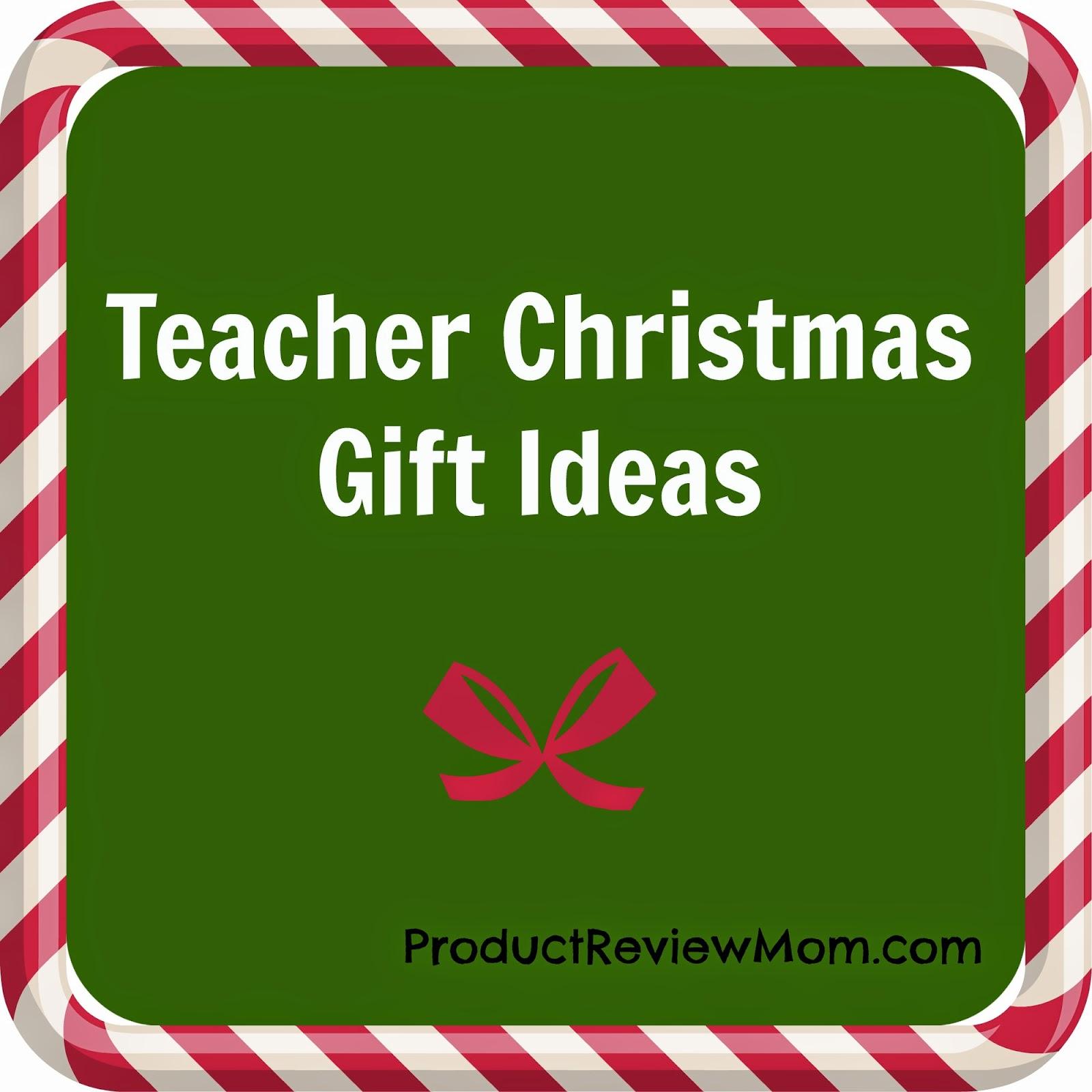 Teacher Christmas Gift Ideas #HolidayGiftGuide via www.productreviewmom.com