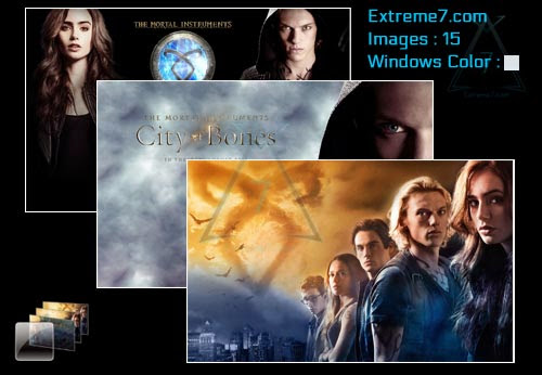 The Mortal Instruments: City of Bones Theme Poster