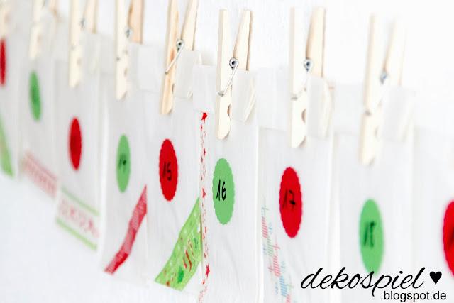 dekospiel diy partner adventskalender aus butterbrott ten. Black Bedroom Furniture Sets. Home Design Ideas