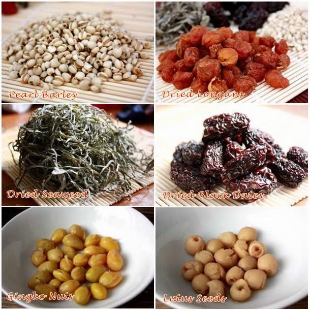 Sam Bo Luong Sweet Soup (Chè Sâm Bổ Lượng)
