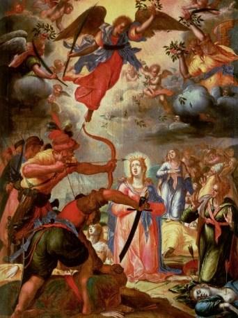 Santa Úrsula y compañeras