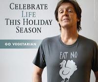 Paul Mccartney faz campanha contra consumo de peru no dia de Ação de Graças