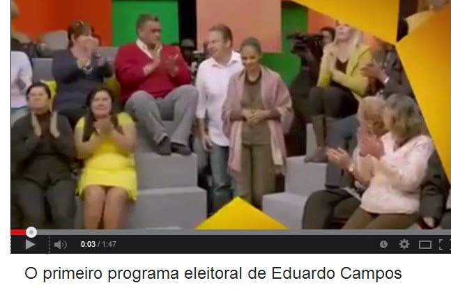 1º Programa eleitoral de Eduardo Campos