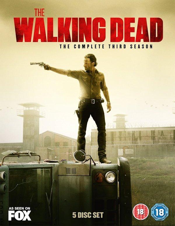 The walking dead season 5 dvd release date