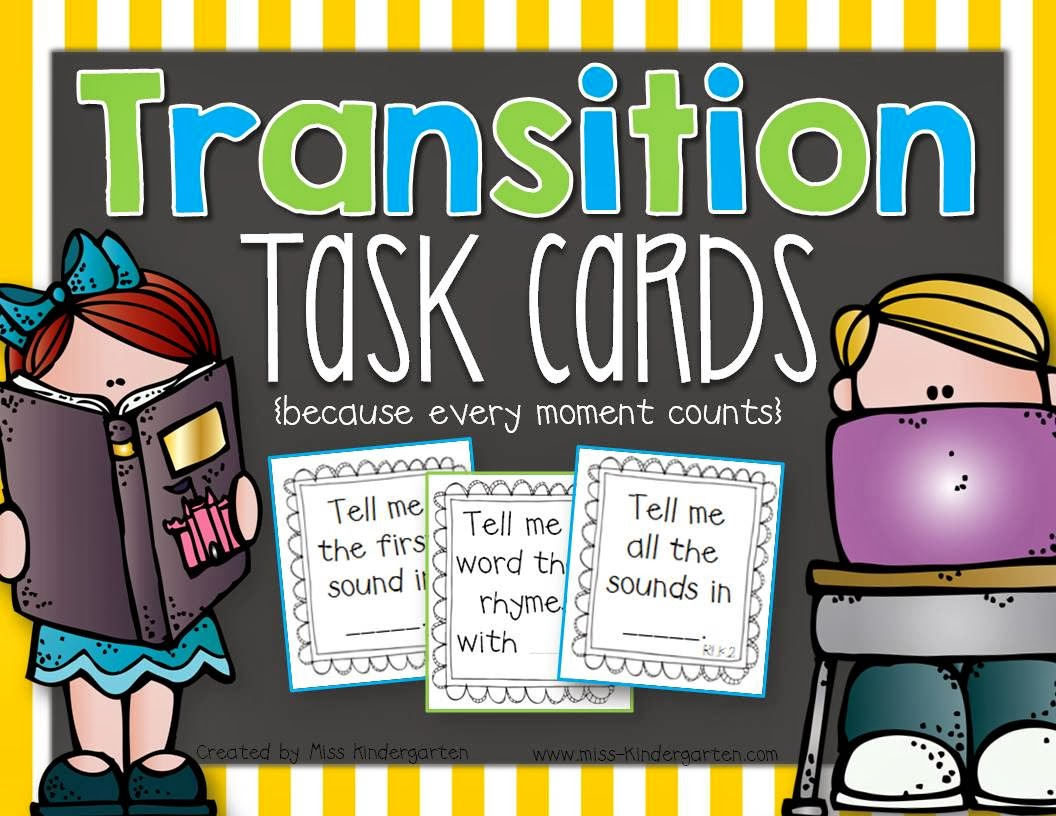 http://www.teacherspayteachers.com/Product/Transition-Task-Cards-1033015