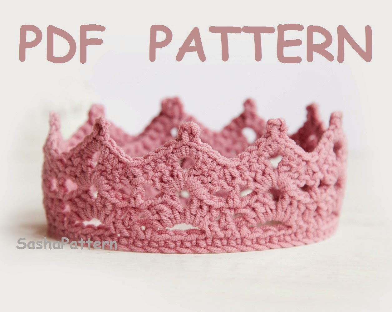 Free Crochet Pattern Baby Crown : Lana creations My knitting work, knit project and free ...