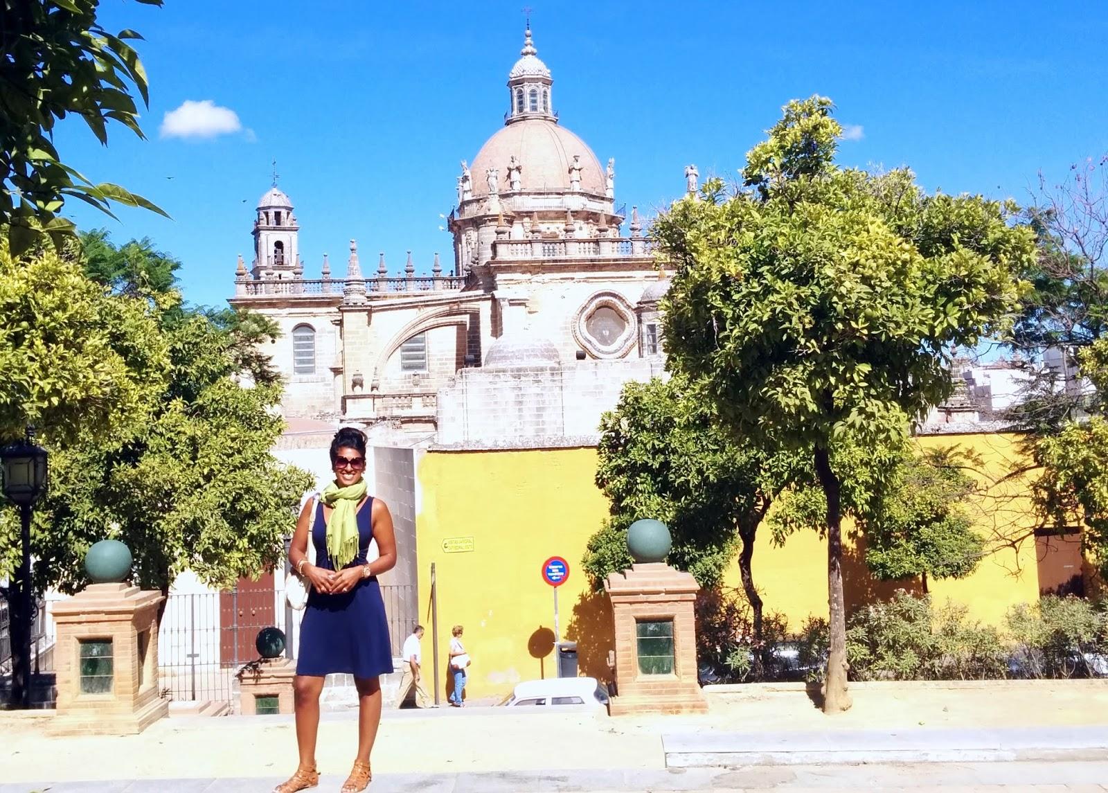 Cathedral of Jerez  |  Postcard from Andalucía: Jerez + Carmona  on afeathery*nest  |  http://afeatherynest.com