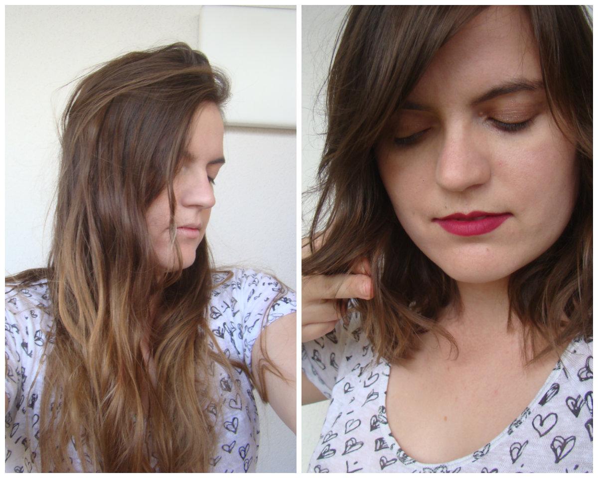 Passer des cheveux long a court sans couper