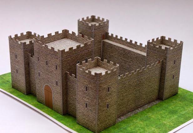 Medieval Castle Papercraft Tektonten Papercraft