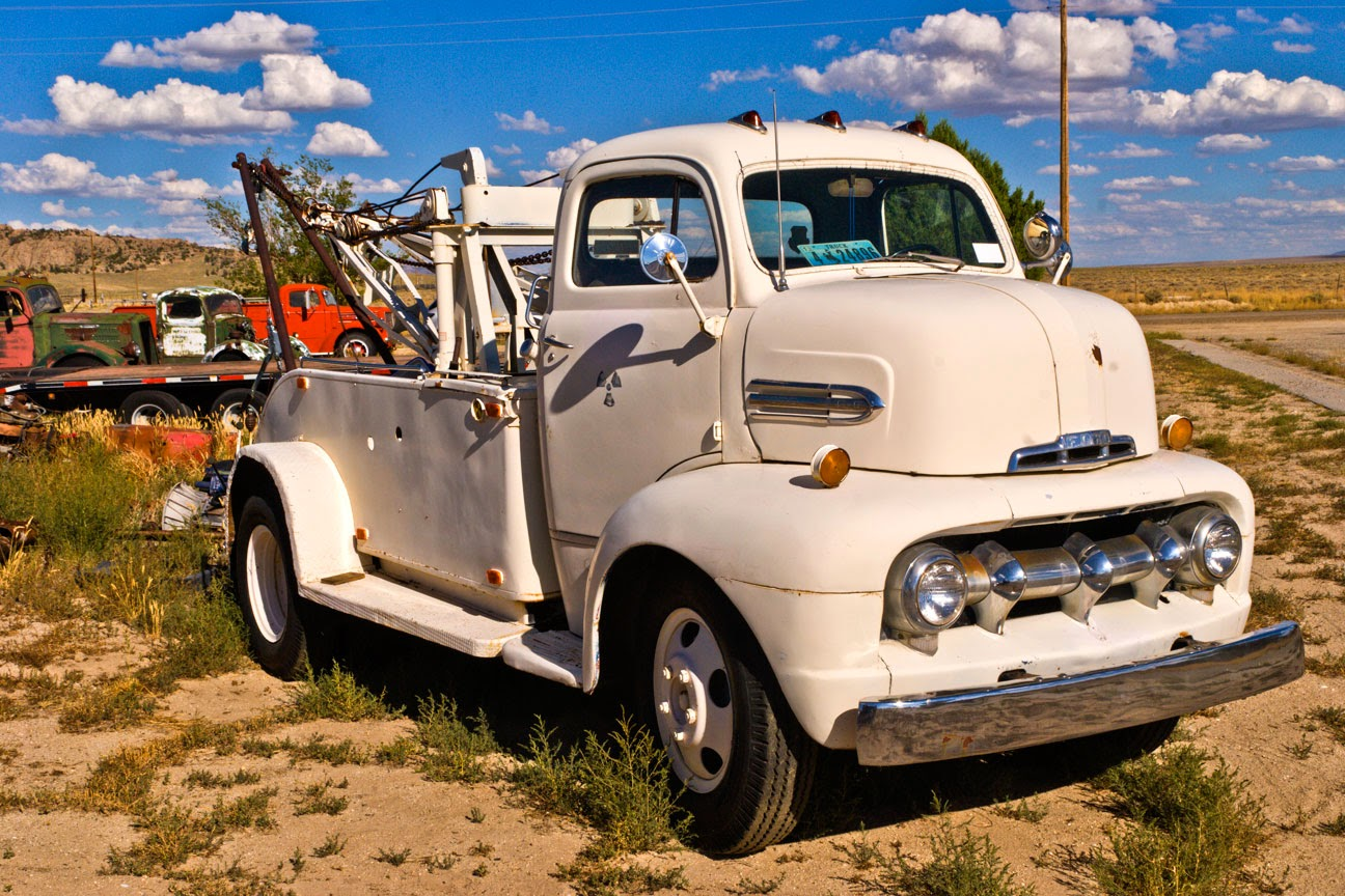 1951 ford coe tow - photo #23