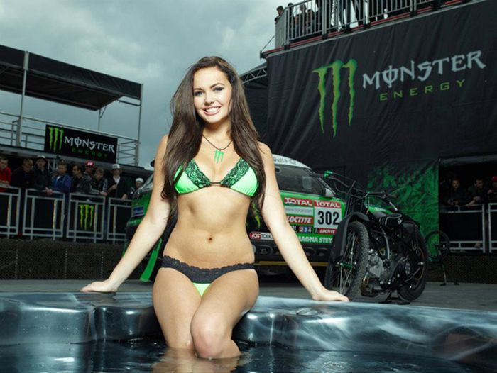 Pictures of hot girls that sponsor monster energy removed