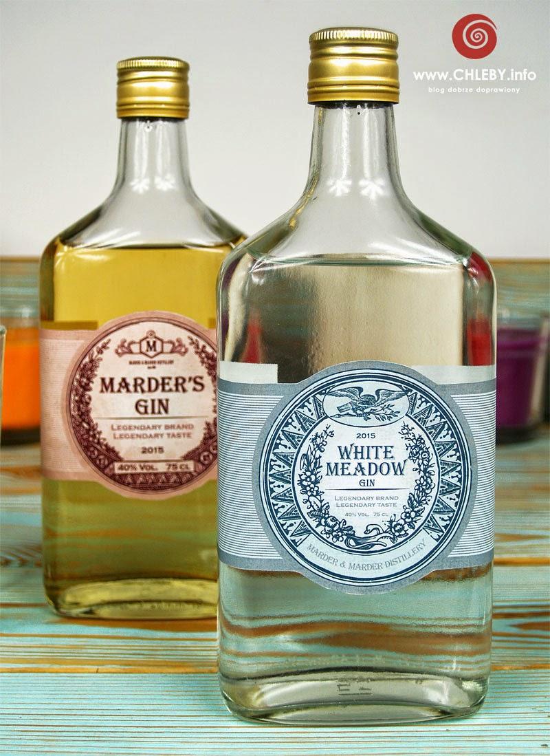 Marder's Gin i White Meadow Gin - dwa przepisy na jałowcówkę, czyli gin