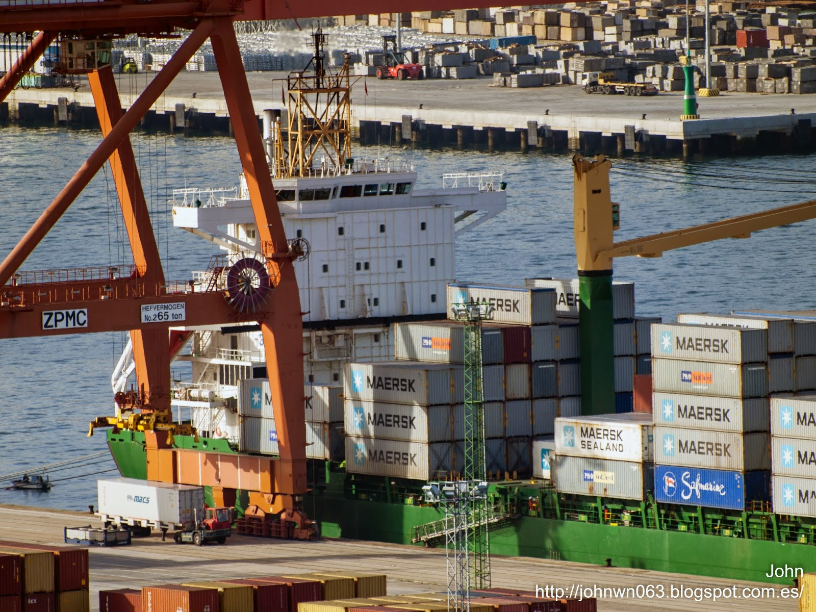 fotos de barcos, imagenes de barcos, container ship, buss reederei, ems trader, vigo