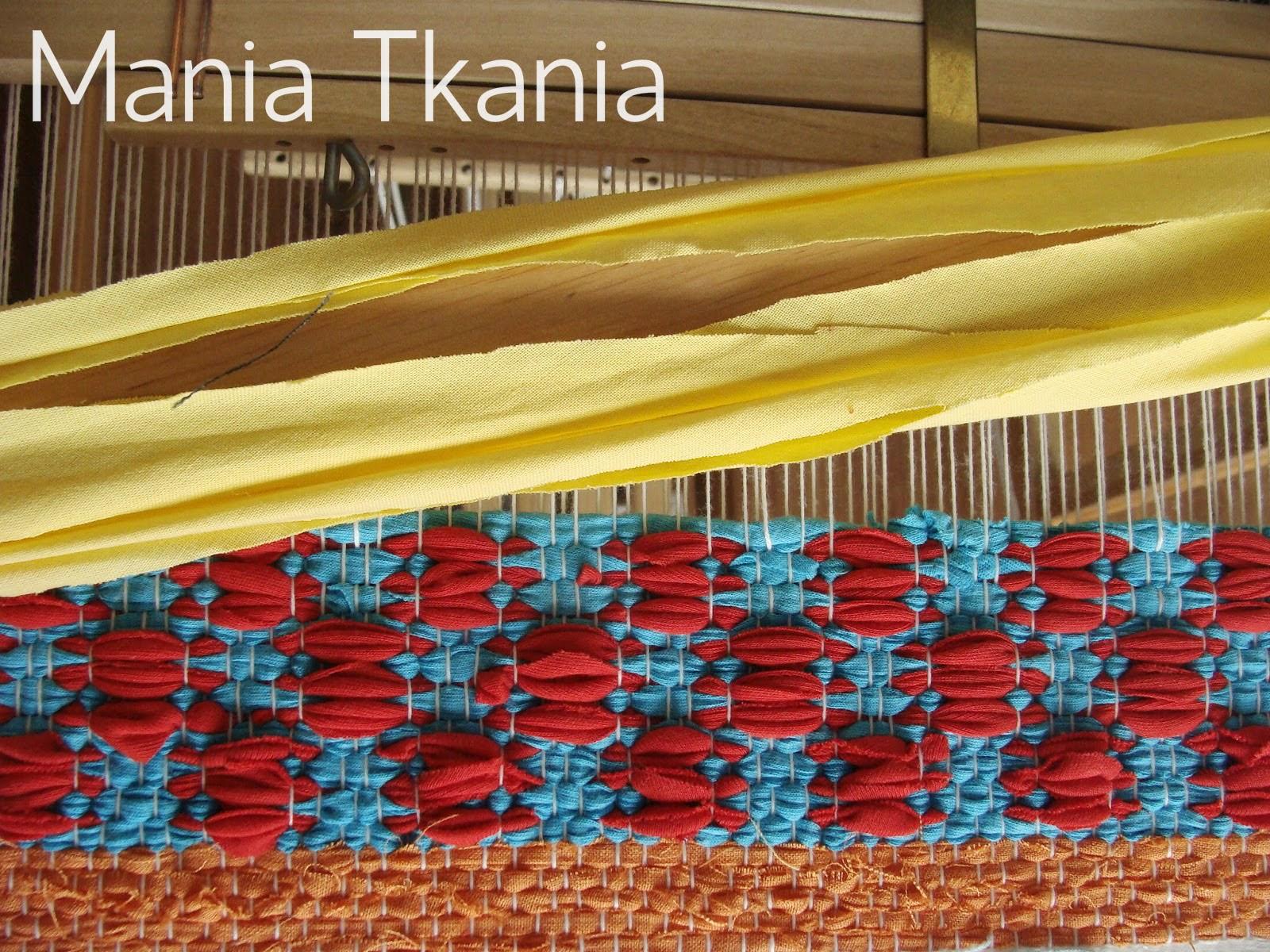 ręcznie tkany dywan szmaciak