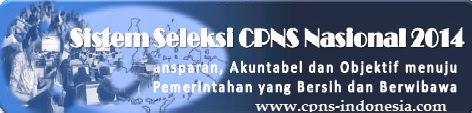 Website Situs Resmi dan Tata Cara Pendaftaran Online CPNS 2014