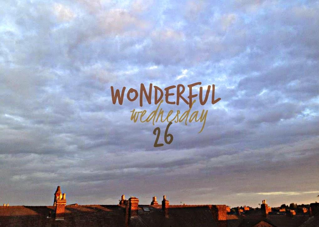 Wonderful Wednesday #26