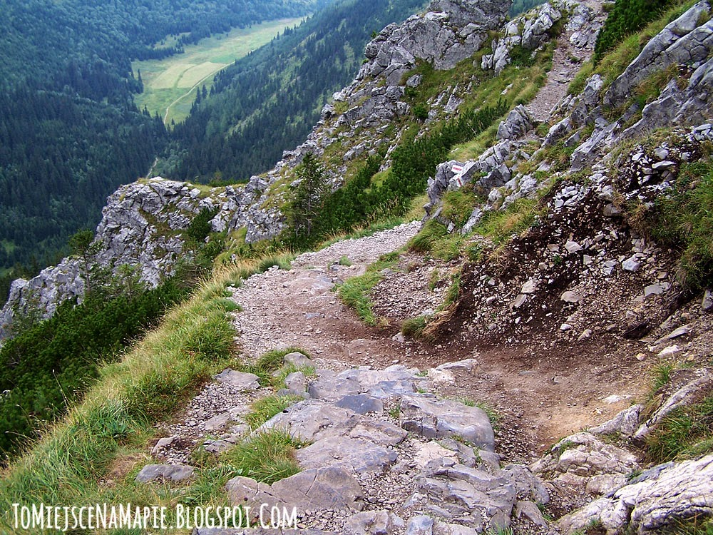 Szlak na Giewont od Doliny Strążyskiej