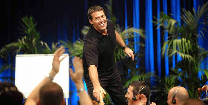 Anthony Robbins, speaker, motivational,