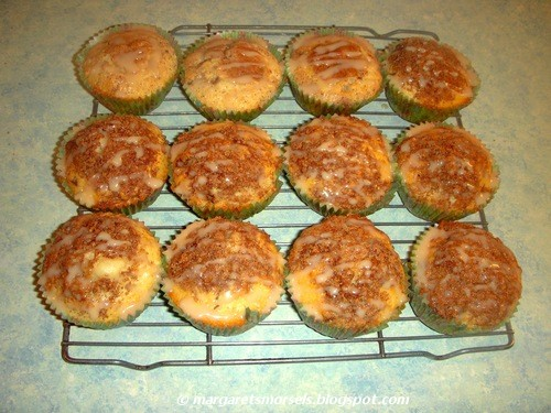 Margaret's Morsels | Coffee Cake Muffins